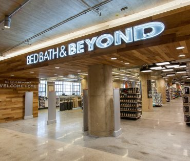 bed bath & beyond interior in brooklyn