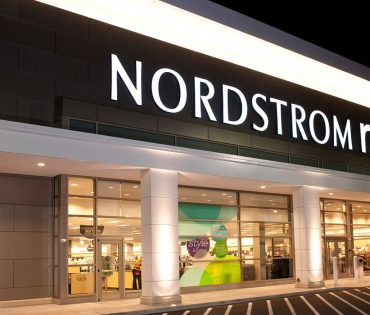 nordstrom rack entrance at river's edge in Indianapolis