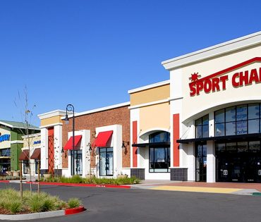 sport chalet entrance at nut tree